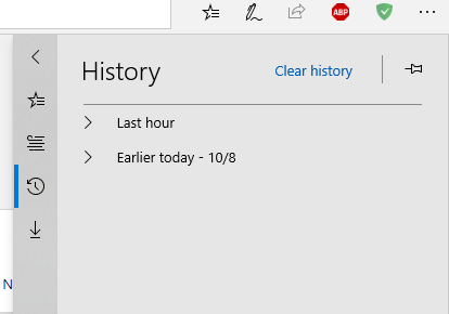 edge clear history
