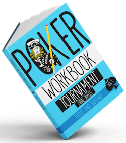 tournament poker workbook