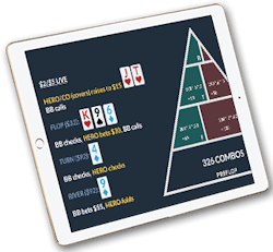 one percent poker course