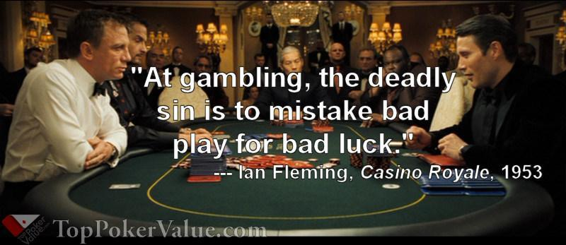 poker site reviews casino royale quote