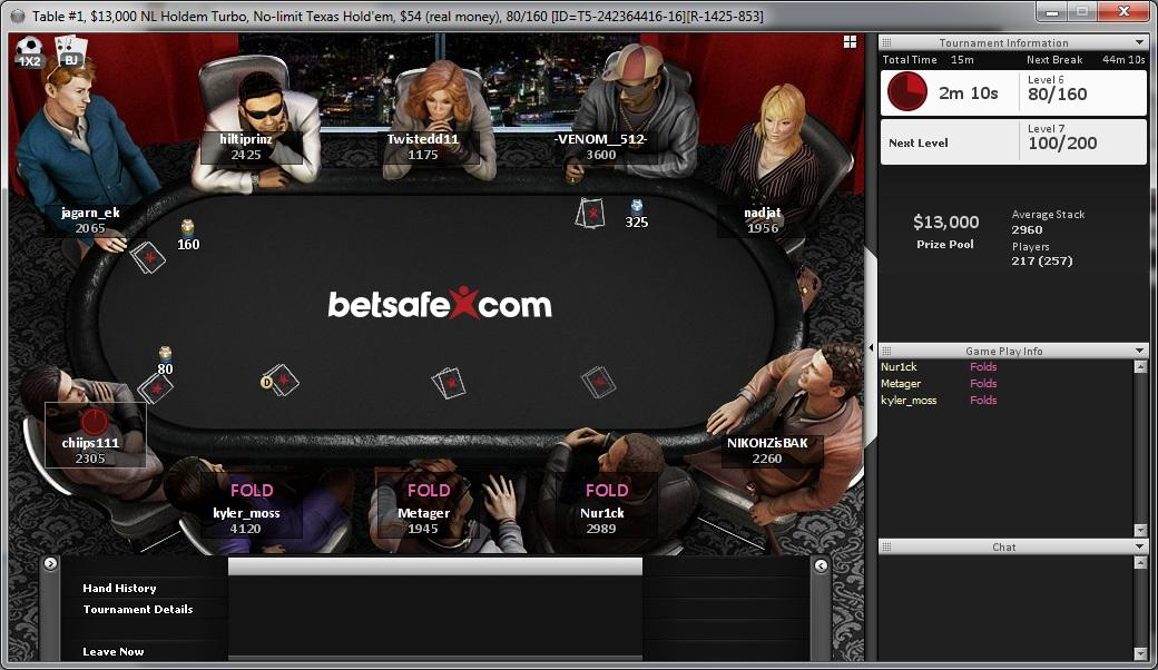Betsafe Poker Red Review | Rakeback | Deposit Bonus