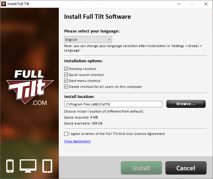 download full tilt poker pc