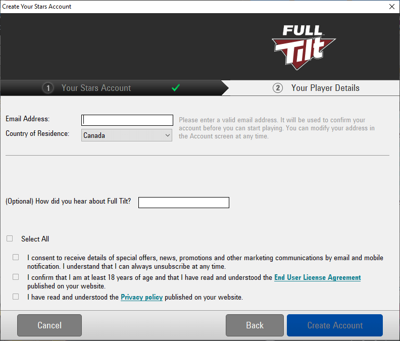real money full tilt poker