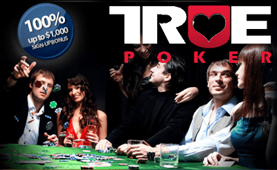 bonus code true poker