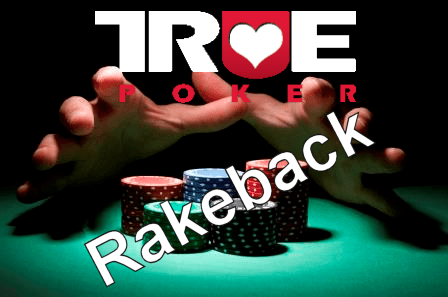 true poker rakeback