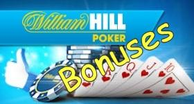 william hill poker bonus offers